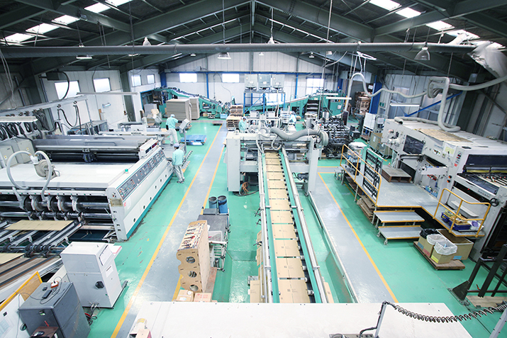 Jパックス株式会社ダンボール工場